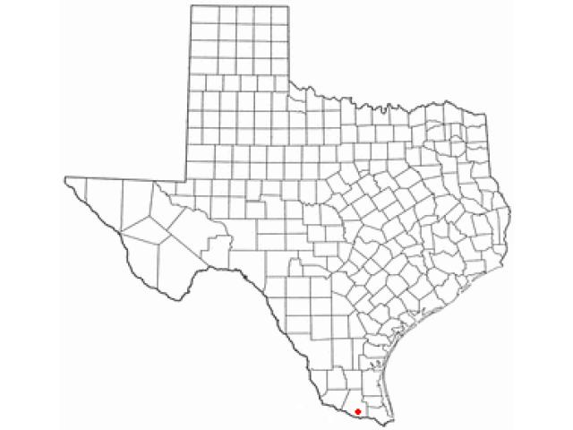Alamo locator map