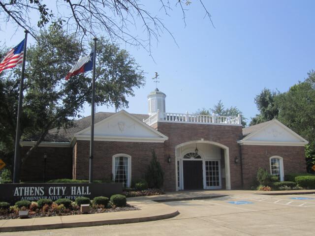 Athens  TX  City Hall IMG 0571 image