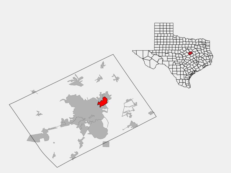 Bellmead locator map