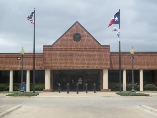 Burleson  TX  City Hall IMG 7080 image
