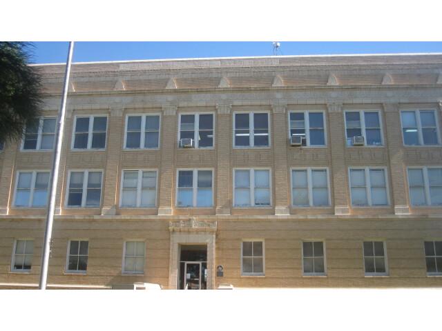 Callahan County  TX  Courthouse  Baird  TX IMG 6382 image