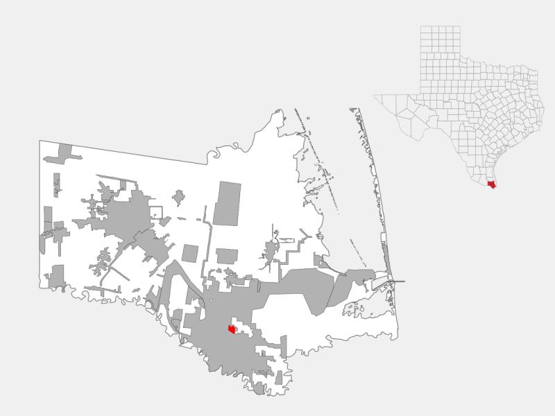 Cameron Park locator map
