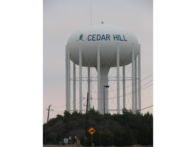 CedarHillWaterTower20070127 image