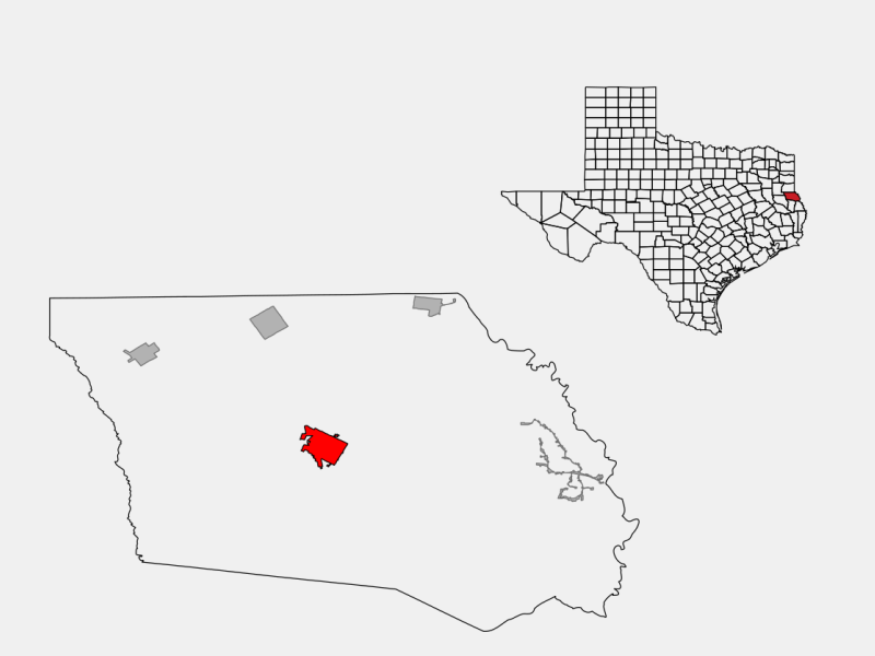 Center locator map