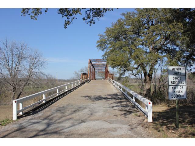 Clifton Whipple Truss Bridge  Clifton  Texas '9057841981' image