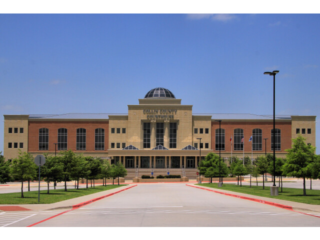 Collin county tx courthouse image
