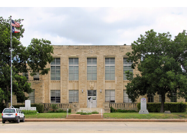 Comanche county tx courthouse image