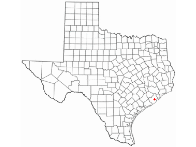 Danbury locator map