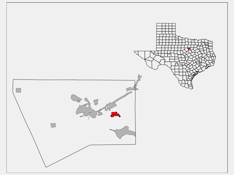 DeCordova locator map