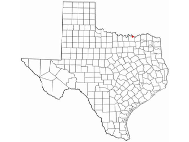Denison locator map
