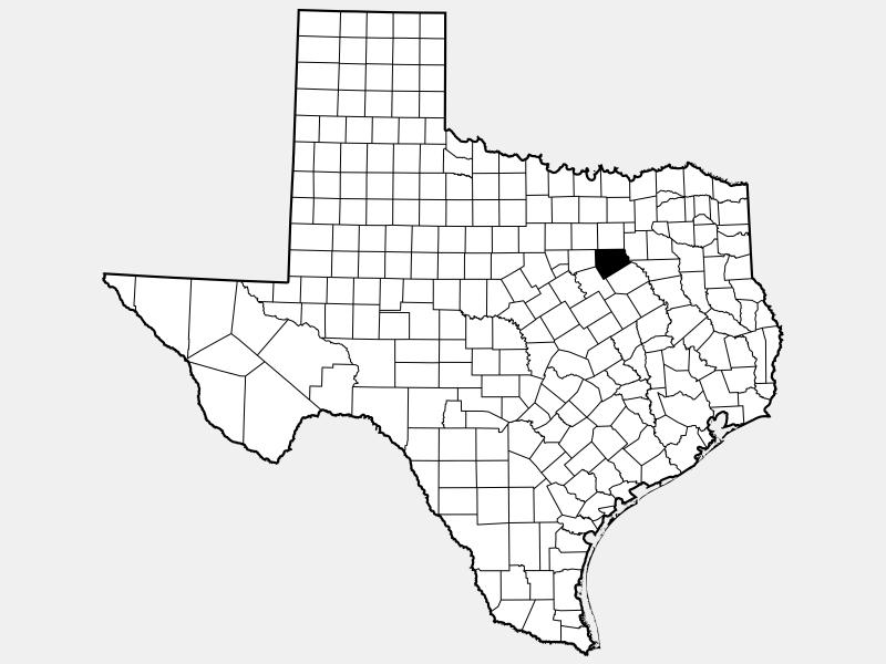 Ellis County, TX locator map
