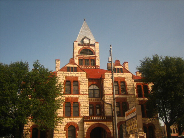 Erath County Courthouse in Stephenville  TX Picture 2229 image