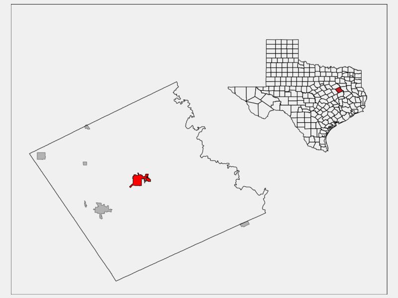 Fairfield locator map