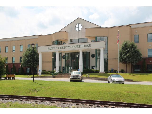 Fannin County  Georgia Courthouse image