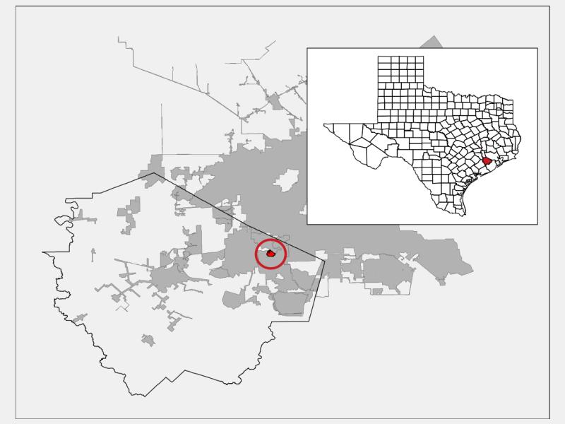 Fifth Street locator map