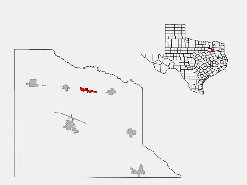 Fruitvale locator map