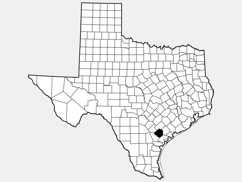 Goliad County location map