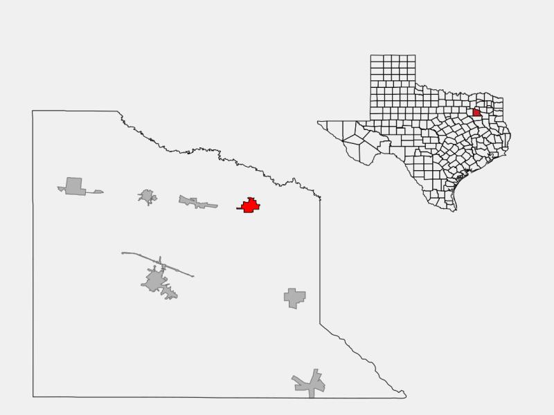 Grand Saline locator map