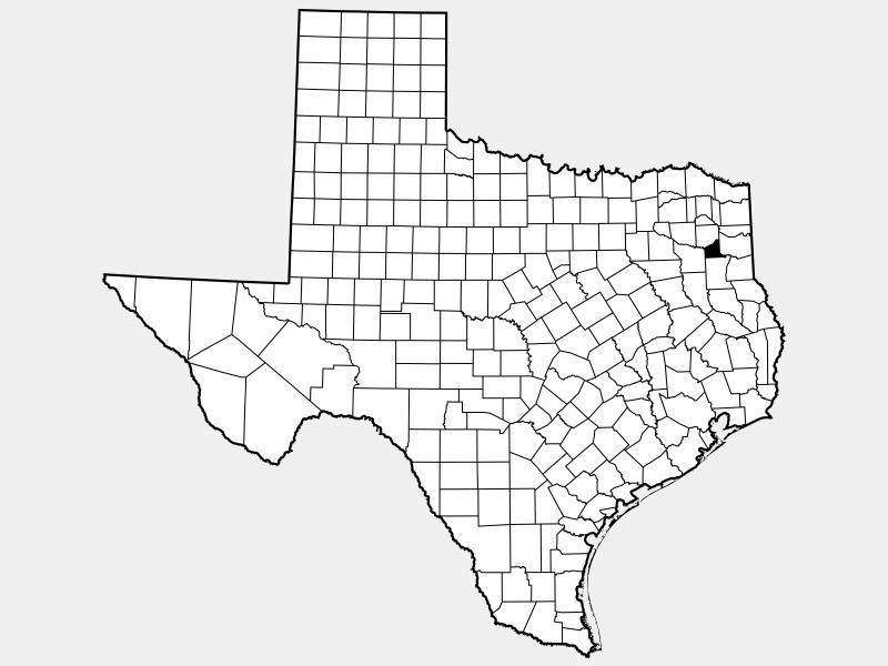 Gregg County, TX locator map