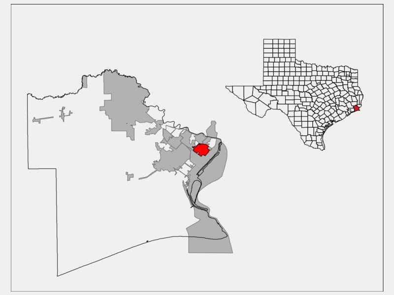 Groves locator map