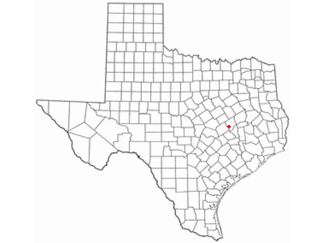 Hearne locator map