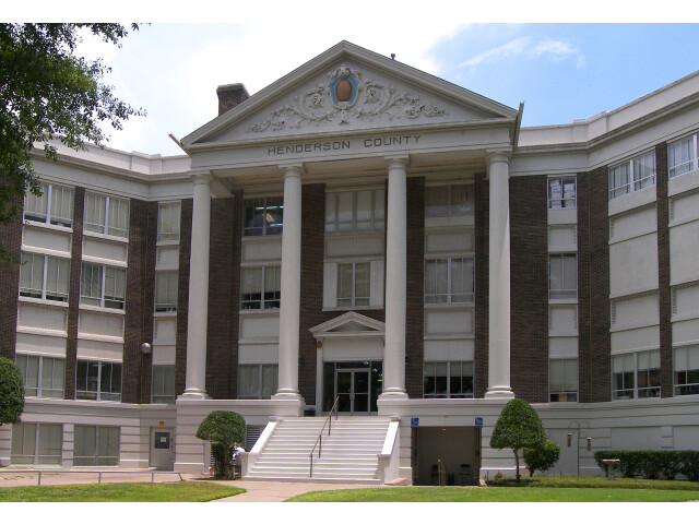 Henderson courthouse tx 2010 image