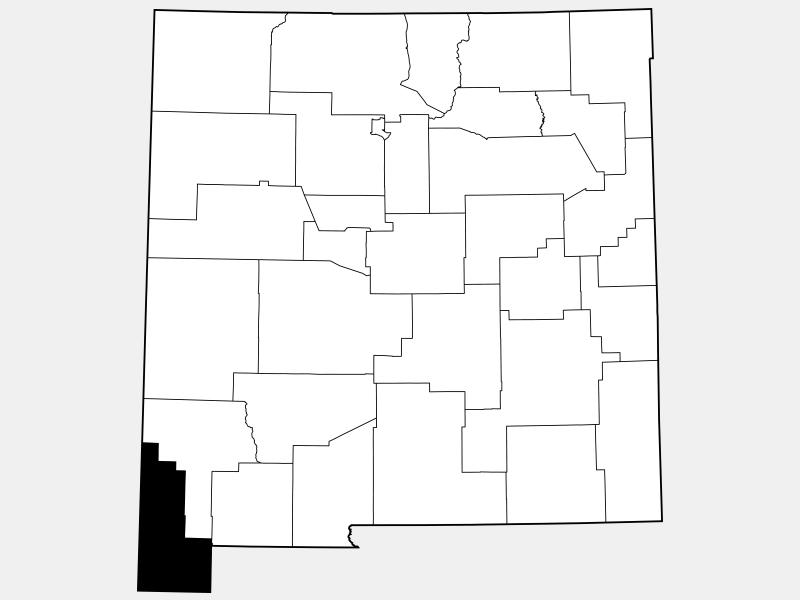 Hidalgo County, TX locator map