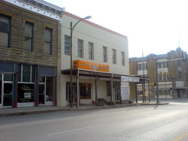 Jacksboro rexall drug wiki image