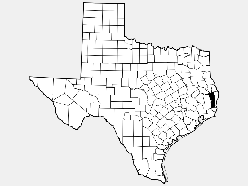 Jasper County locator map