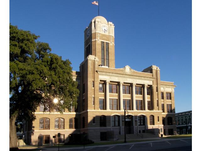 Johnson county courthouse 2009 image