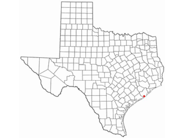 Jones Creek locator map