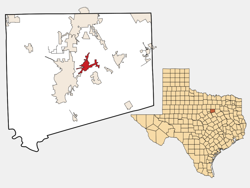 Keene locator map