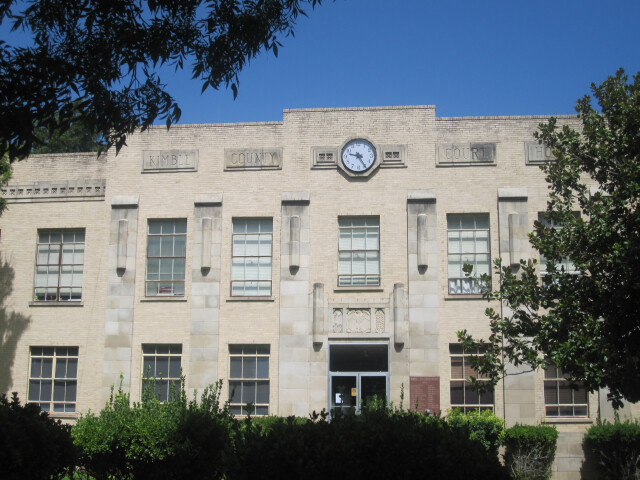 Kimble County  TX  Courthouse in Junction IMG 4334 image