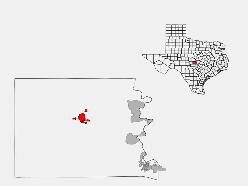 Llano location map