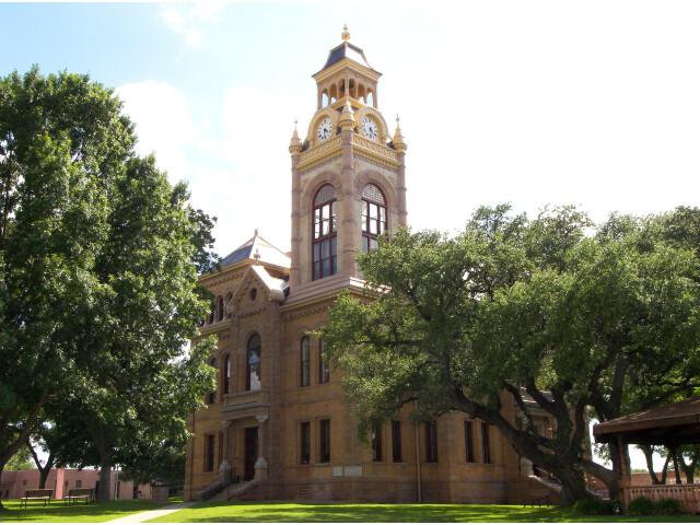 Llano courthouse 2010 image
