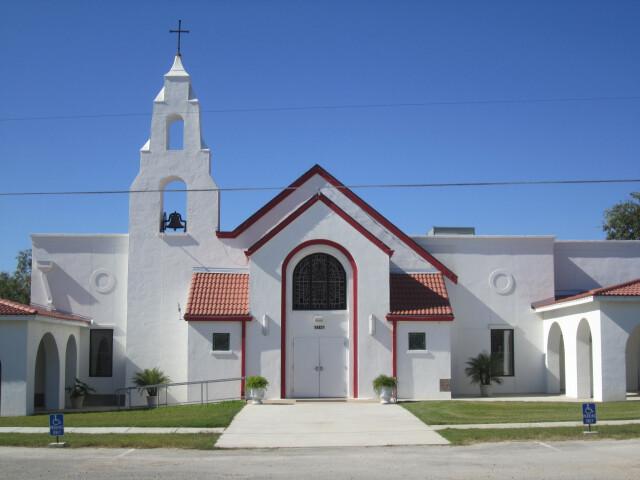 St. Andrew the Apostle Catholic Church  Lytle  TX IMG 0740 image