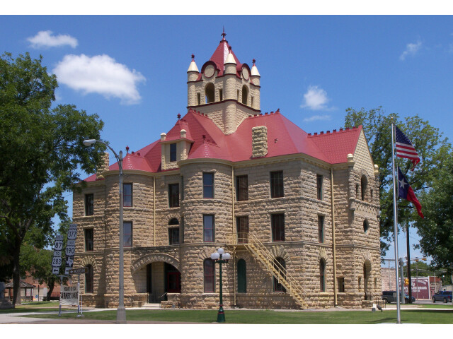 Mcculloch county courthouse 2010 image