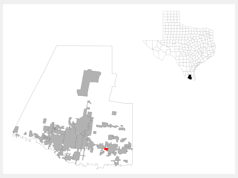 Midway South location map
