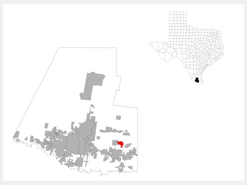 Mila Doce locator map