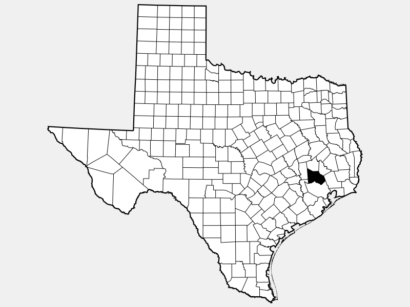 Montgomery County, TX locator map