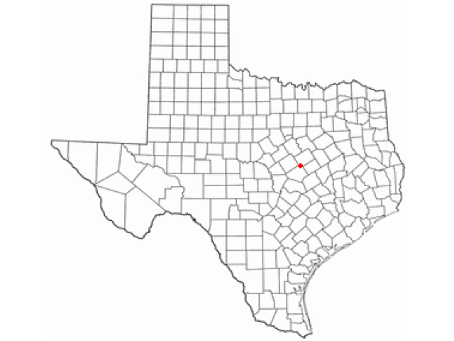 Moody locator map