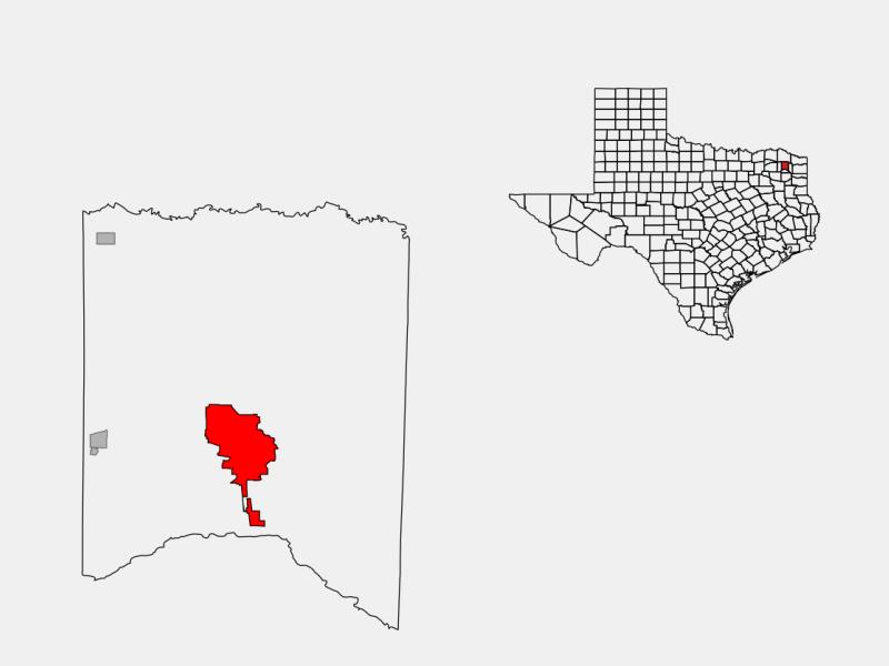 Mount Pleasant locator map
