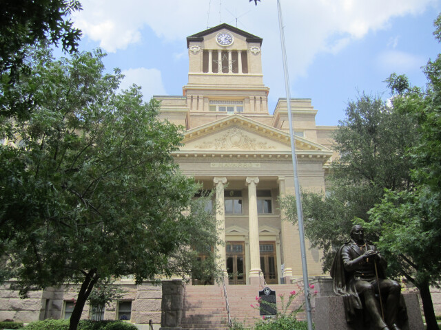 Revised  Navarro County Courthouse in Corsicana  TX IMG 0609 image