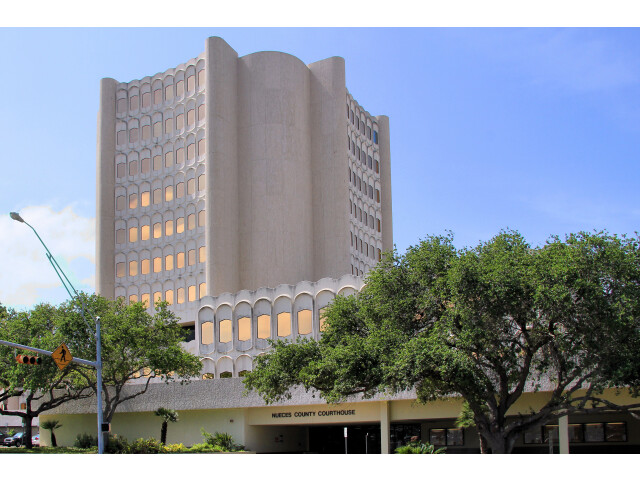 Nueces county courthouse image