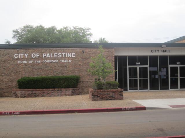 Palestine  TX  City Hall IMG 2312 image