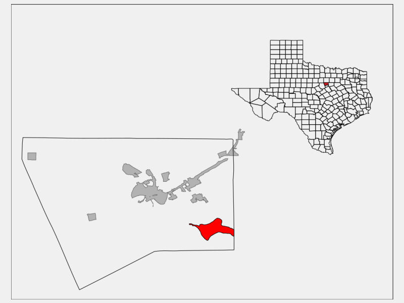 Pecan Plantation locator map