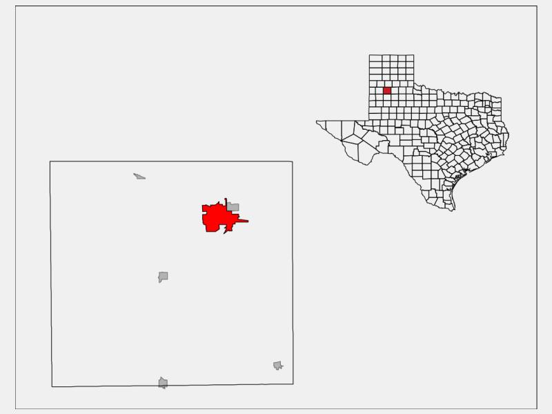 Plainview locator map