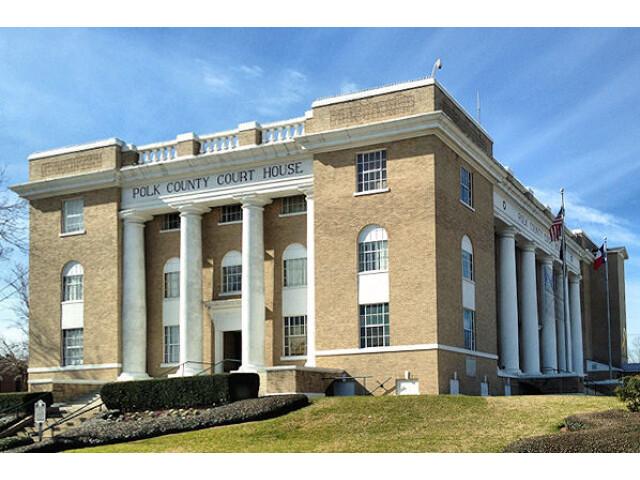 Polk County Texas Court House image