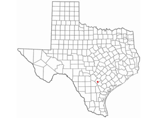 Poth location map