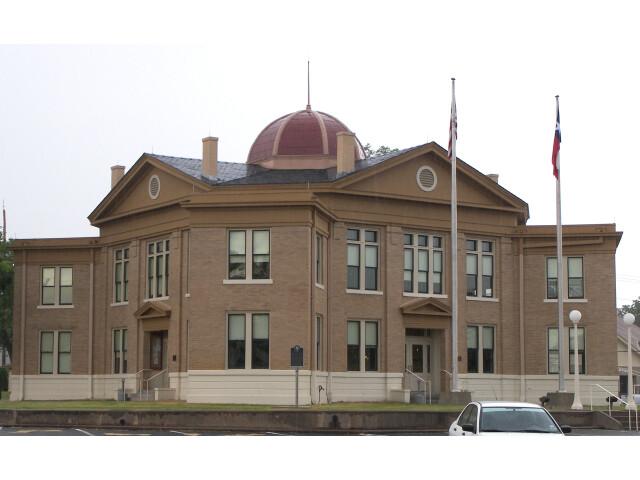 Rains courthouse 2010 image
